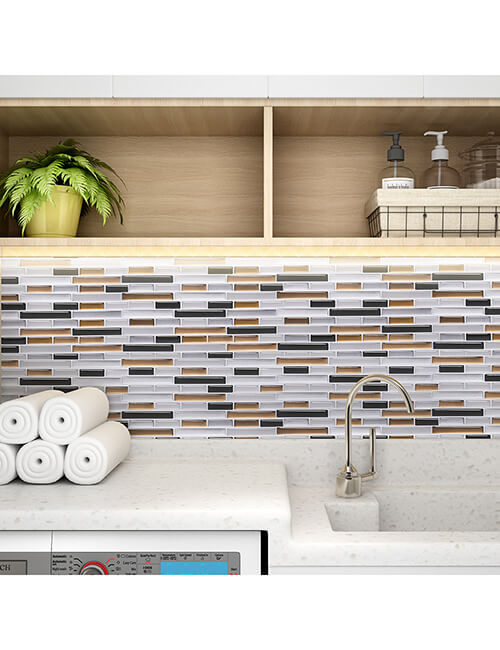 3d tile backsplash for laundry room walls