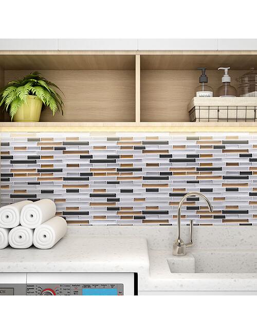 3d tile backsplash for laundry room walls