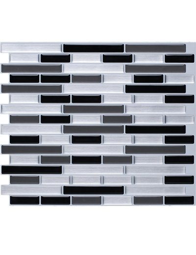Clever Mosaics peel and stick subway tile