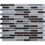 Clever Mosaics peel and stick vinyl tile backsplash
