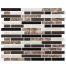 Clever Mosaics peel and stick subway tile backsplash CM80112