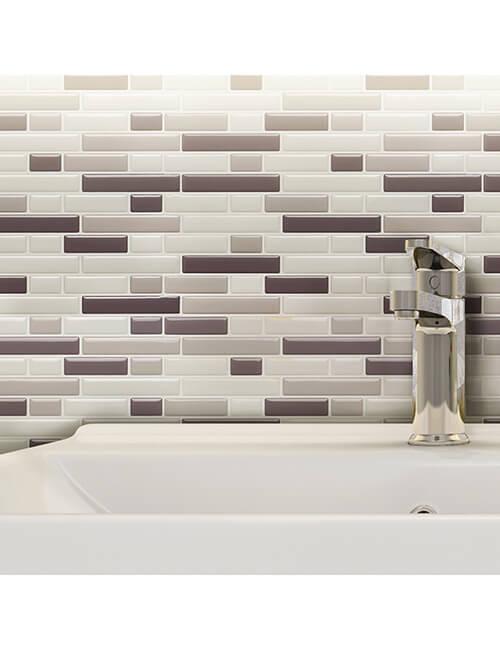wall covering subway tile backsplash