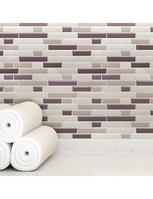 wall decor 3d subway tile backsplash