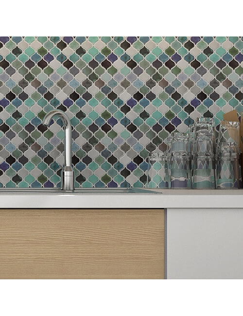 kitchen backsplash self adhesive mosaic tile