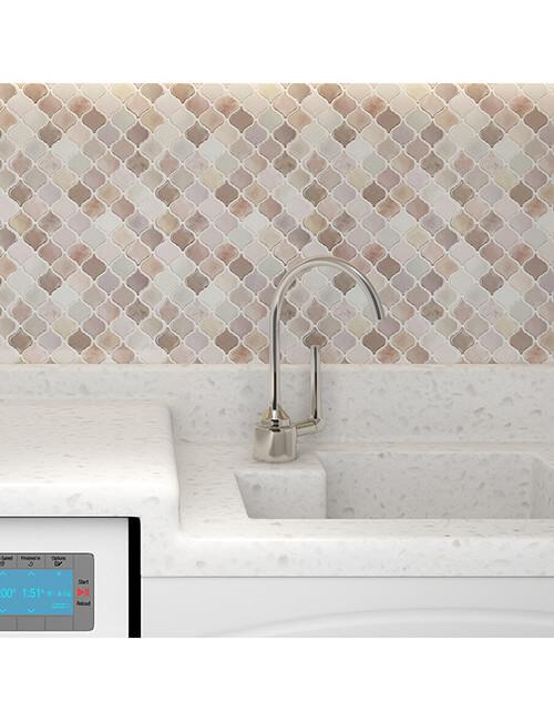 peel and stick mosaics for bathroom