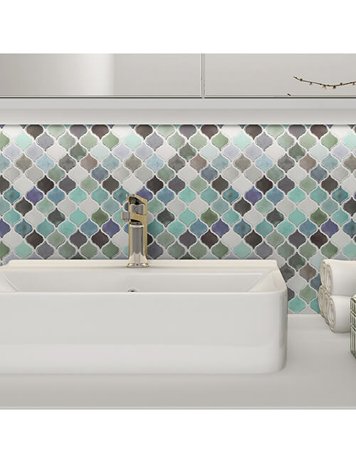 self-adhesive wall tile for bathroom