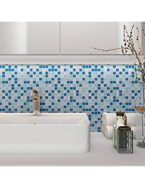 self sticky vinyl tile for bathroom