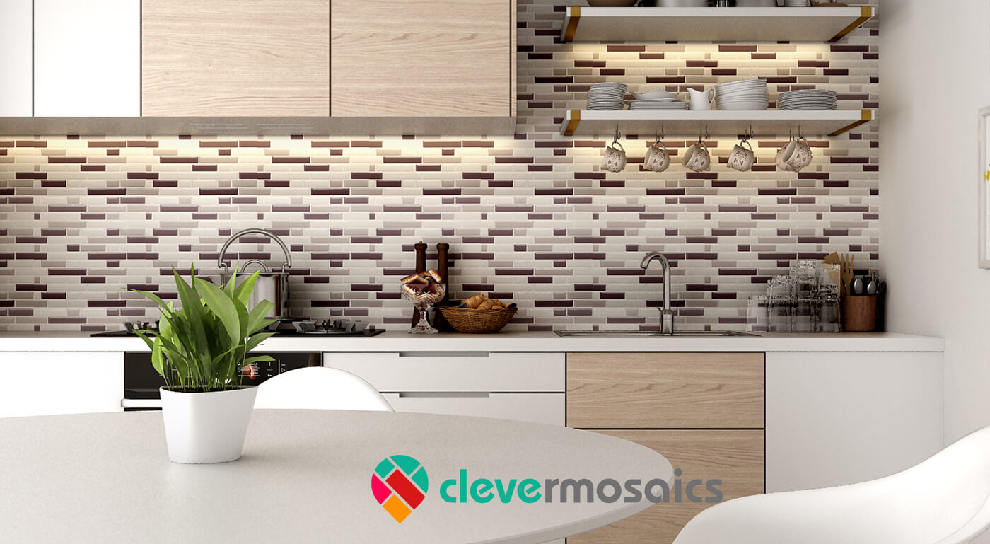kitchen backsplash peel and stick subway tile