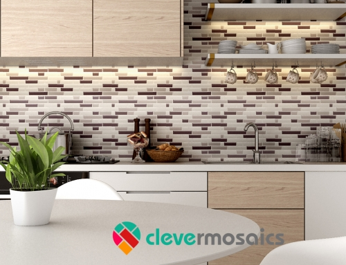 2018 Wohnkultur Trends Peel und Stick Tile Backsplash