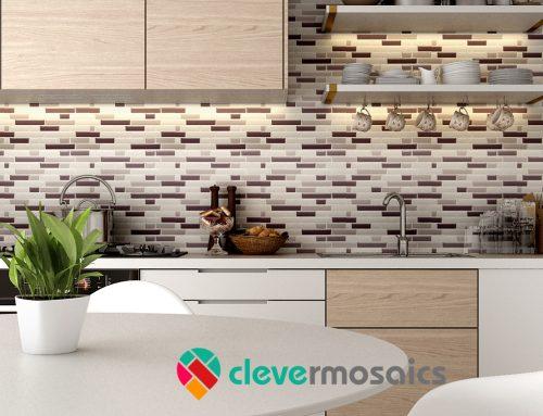 2018 Wohnkultur Trends Peel und Stick Tile Backsplash