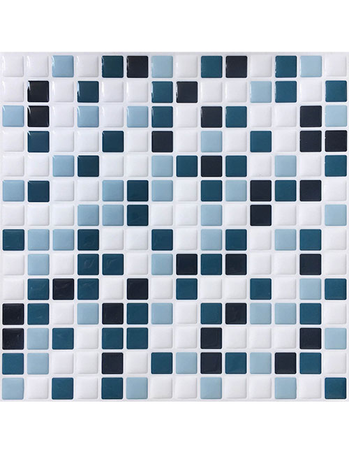 peel and stick tiles for shower walls from Clever Mosaics