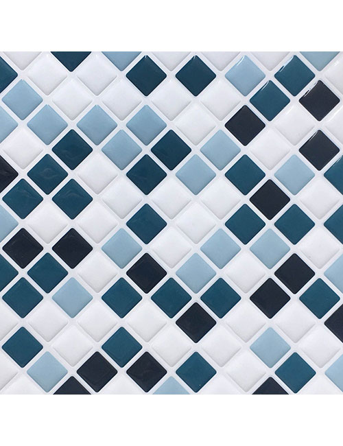 Peel And Stick Tiles For Showe Walls Cm80235 Clever Mosaics
