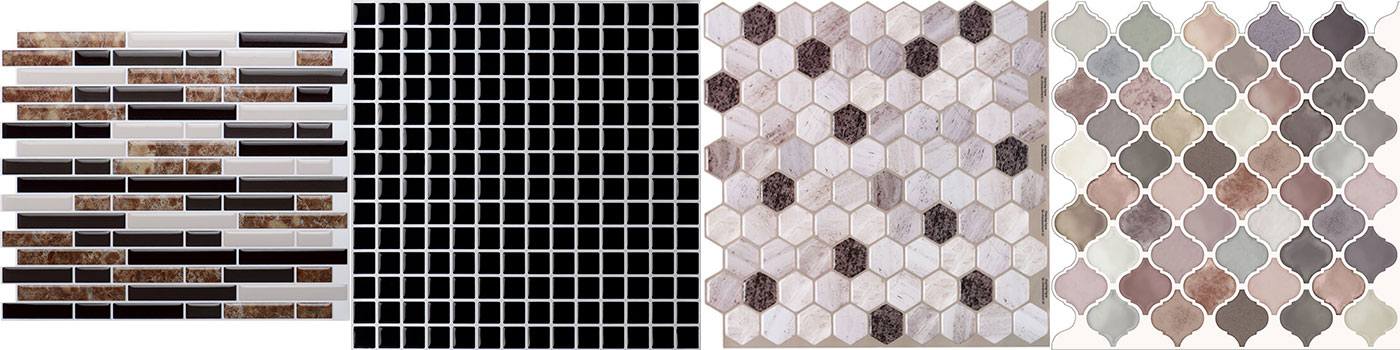 Peel And Stick Tile Backsplash For Kitchen Wall Mosaic Clever Mosaics