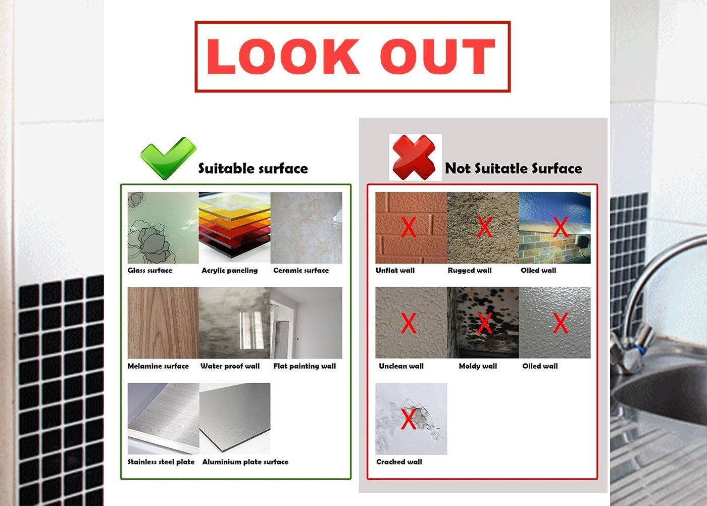 something you should know before installing peel and stick tiles