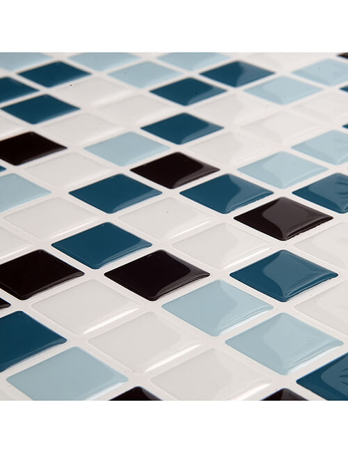 peel and stick shower wall mosaic tile