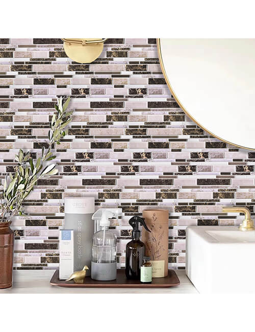 peel and stick tiles for home walls