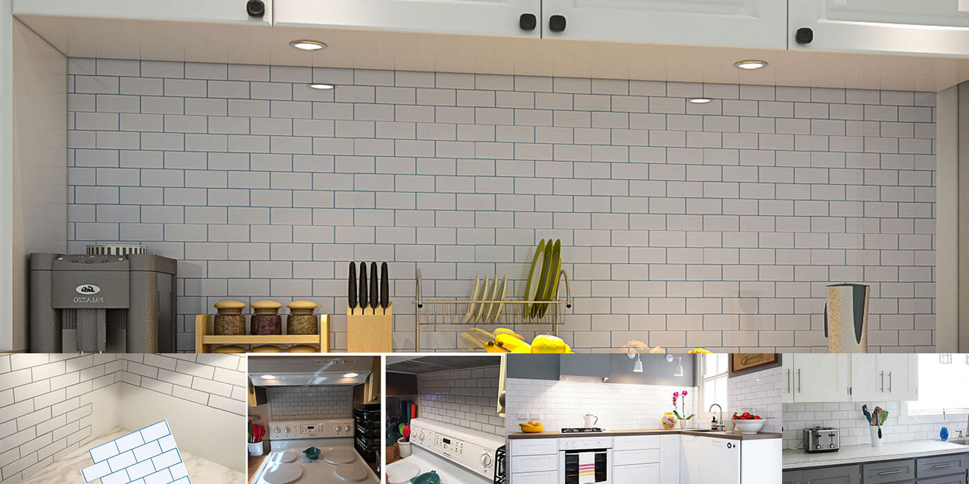 Do-it-yourself DIY Smart Kitchen Remodel Ideas | Clever Mosaics