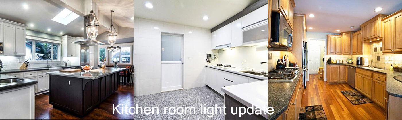 Kitchen Remodel Idea Light Update