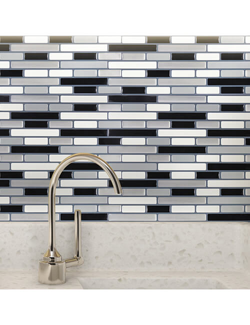 self adhesive vinyl backsplash wall tile