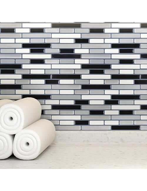 self adhesive vinyl tile backsplash for walls
