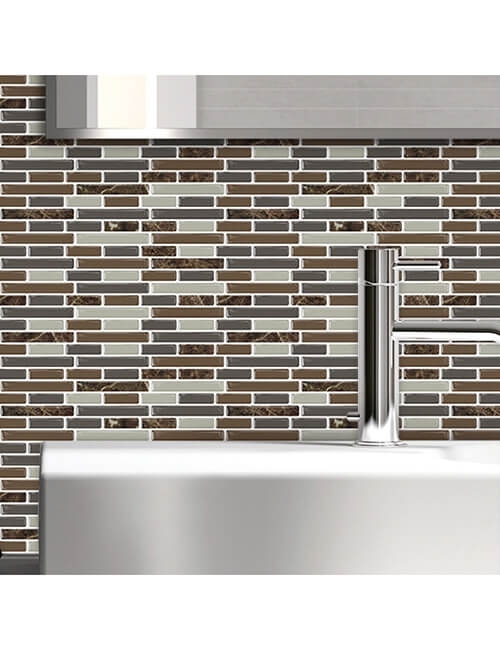 peel stick back splash for bathroom