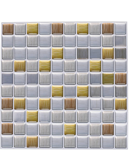 Plastic Tile Backsplash Affordable Kitchen Clever Mosaics