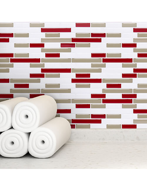 temporary mosaic tile for walls