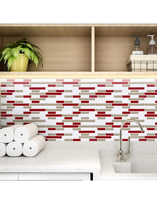 temporary tile backsplash