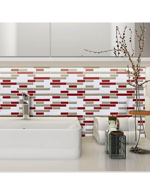 temporary tile for bathroom