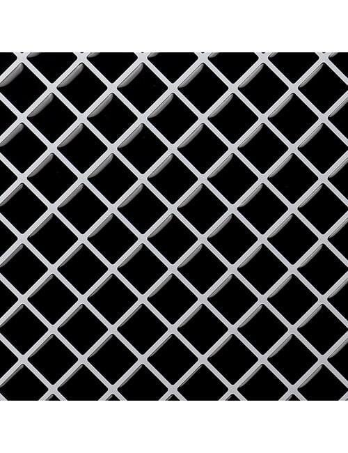 Clever Mosaics black mosaic backsplash