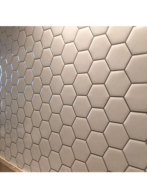 hexagon wall tile sticker