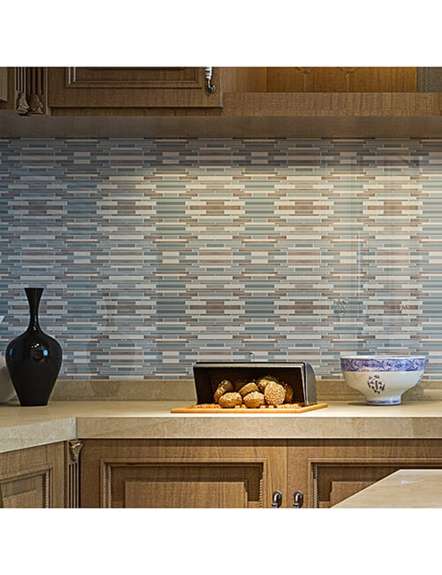 kitchen stickable backsplash