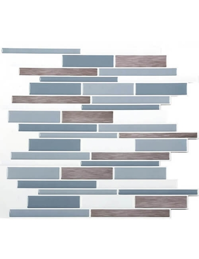 Clever Mosaics stickable backsplash
