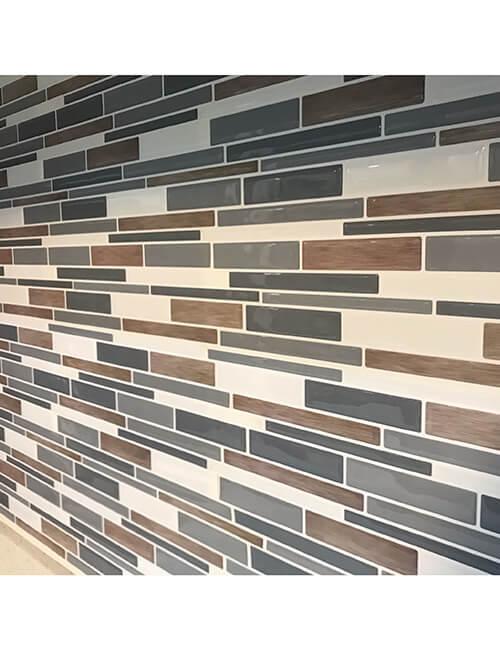 stickable tile backsplash