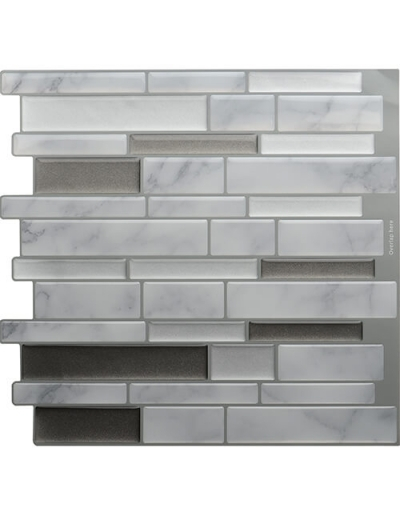 peel and stick carrara marble tile
