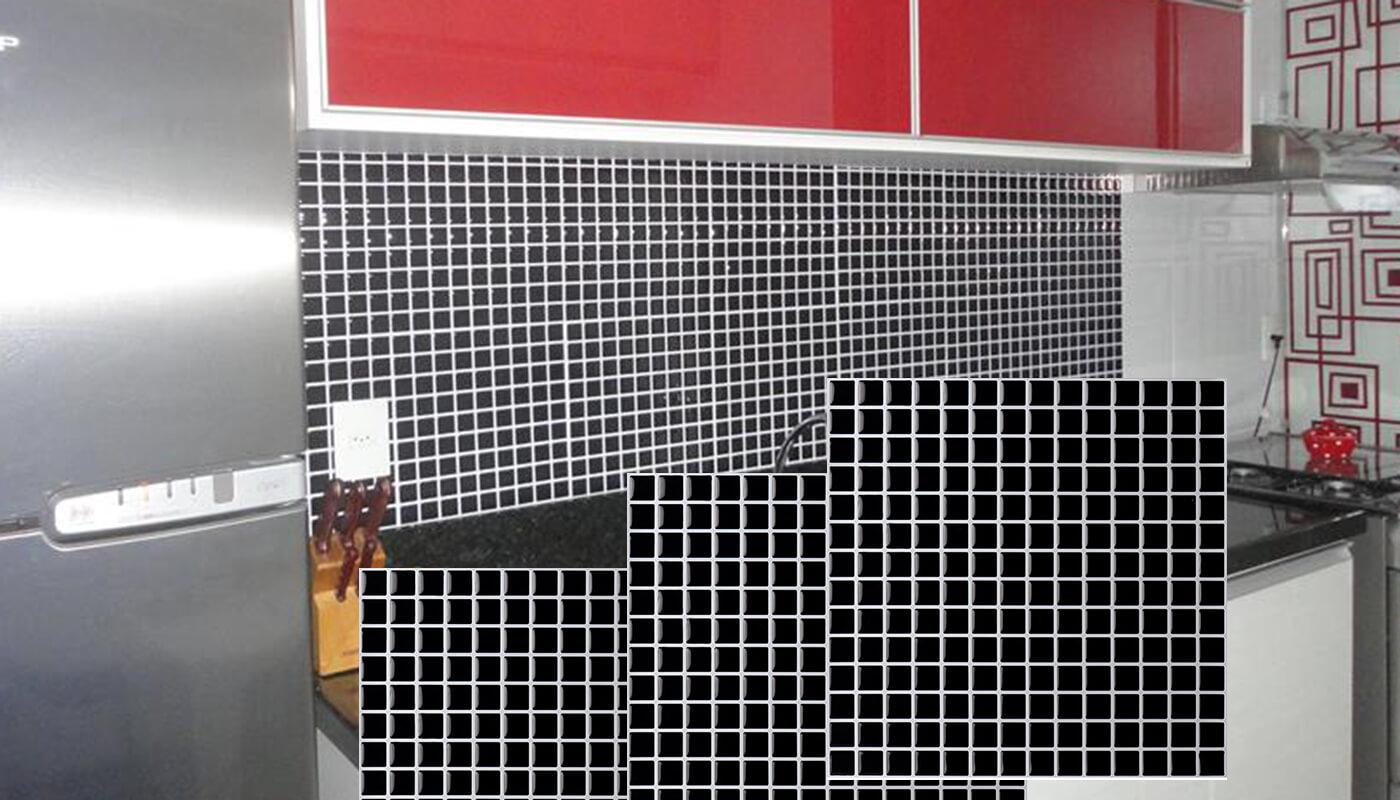 decorative vinyl tile backsplash for kitchen renovation