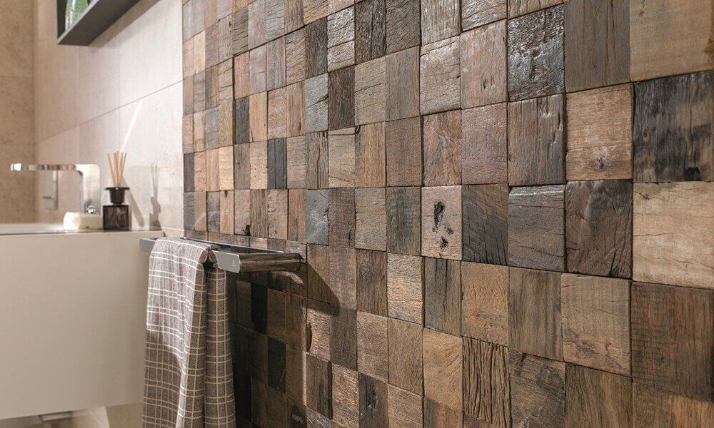 decorative wooden tile