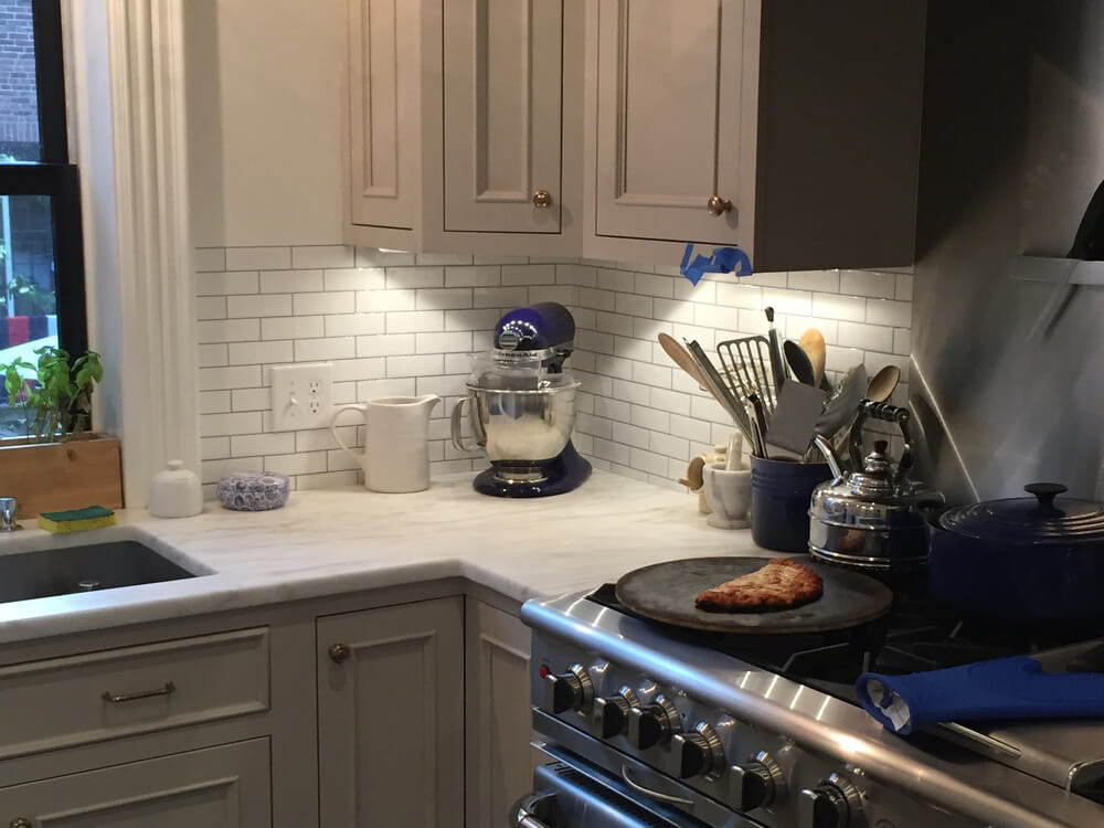peel and stick subway tile for kitchen backsplash