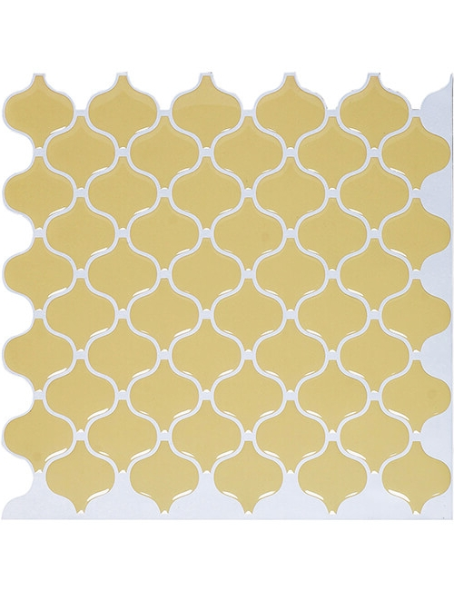 peel and stick yellow tile