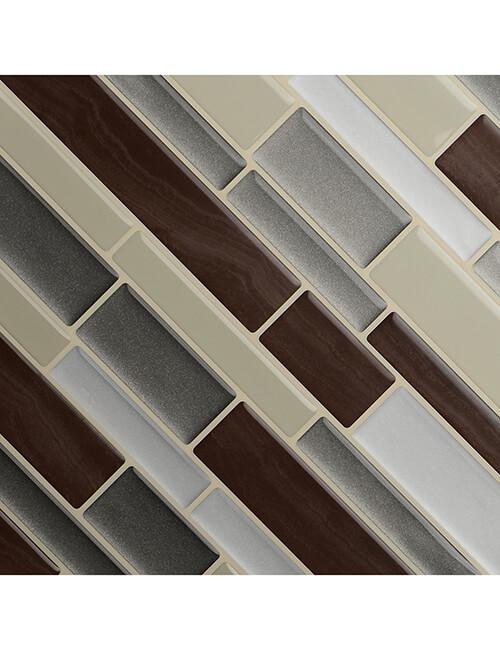 Smart Decoration Peel and Stick Tile | Clever Mosaics