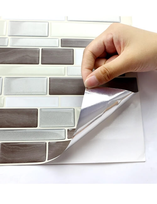 stick and press tile