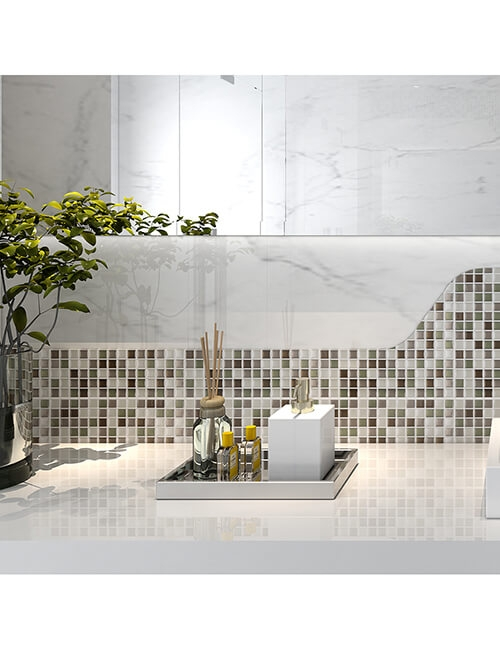 easy sticky wall tile