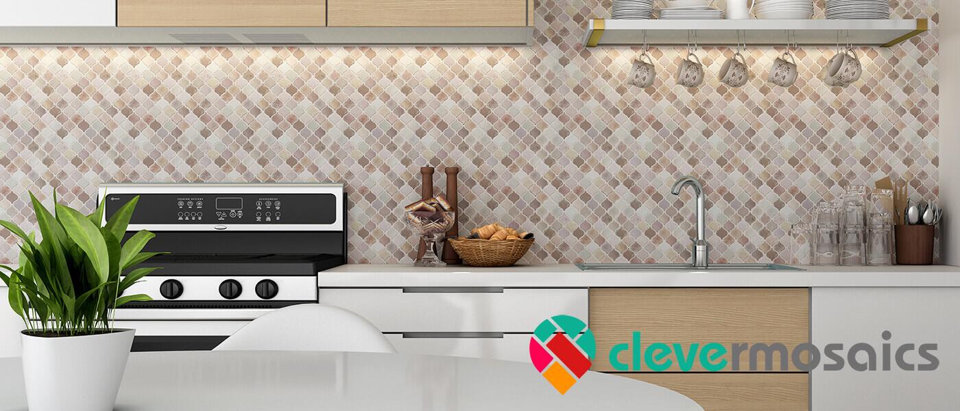 kitchen wall tile mosaic
