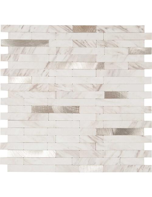 peel stick milano carrera marble stone tile