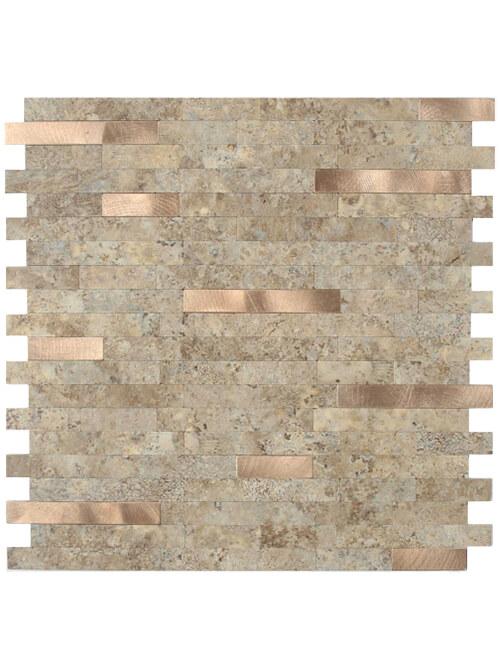 Peel Stick Marble Stone Tile