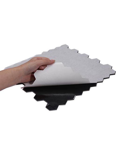 adhesive hexagon stone tile