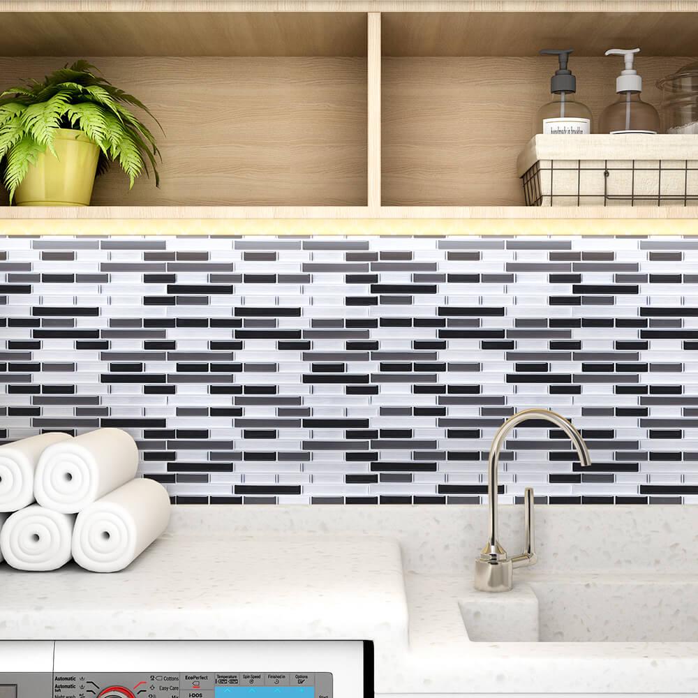 room wall easy colorful mosaic idea