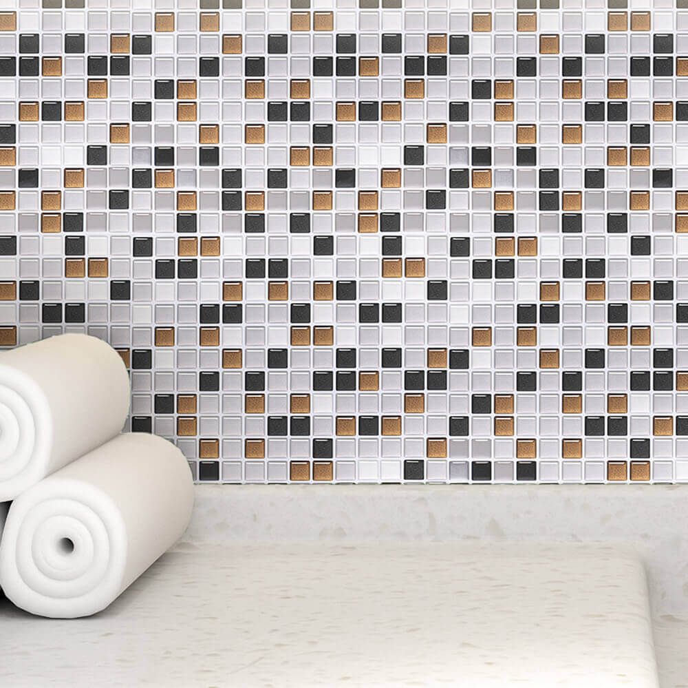 home wall colorful mosaic cover