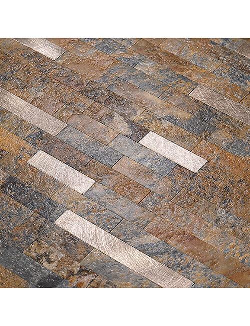 faux stone tile peel stick