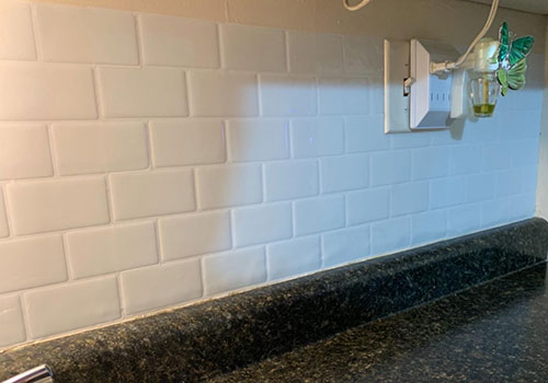 peel and stick pure white subway tile for kithen
